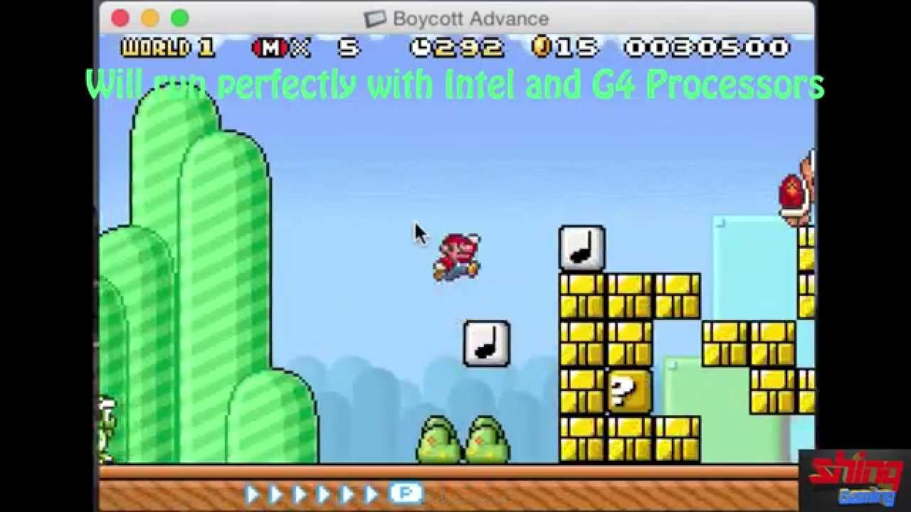 nes emulator for mac intel