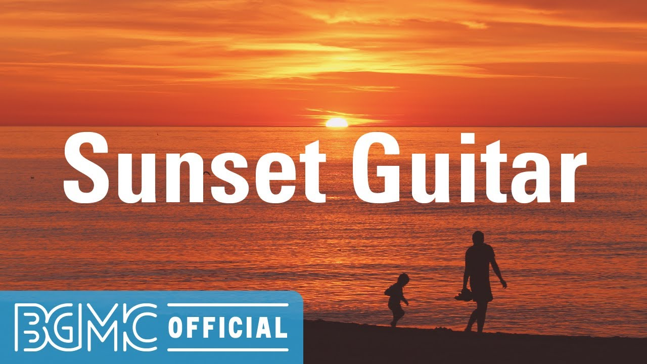 Sunset Guitar: Sunset Instrumental Music - November Easy Listening Music for Soothing, Unwinding