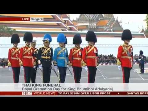 Royal Urn Moved from Grand Palace to Royal Funeral Field - BREAKING NEWS 10/26/17