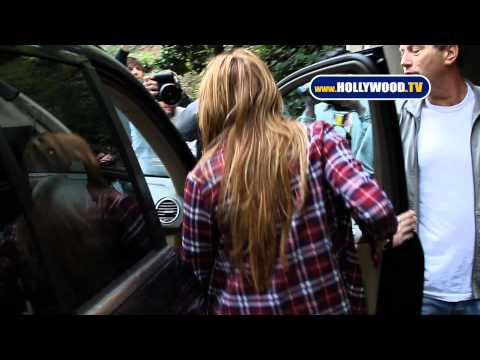 Miley Cyrus to Obstructing Paparazzo: