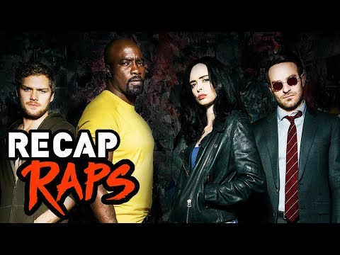 PRE DEFENDERS RECAP RAP (Daredevil, Jessica Jones, Luke Cage, & Iron Fist)