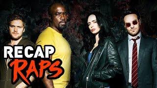 PRE DEFENDERS RECAP RAP (Daredevil, Jessica Jones, Luke Cage, & Iron Fist)