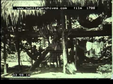 British Guiana  Guyana South America early 1920's.  Film 1788
