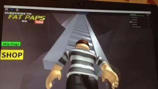 Roblox let's play:prison break obby | Dorekuknight wu
