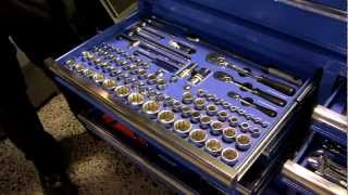 Kincrome 573 Piece Tool Trolley Kit
