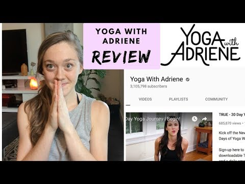 REVIEW OF 30 DAYS OF YOGA WITH ADRIENE Is it worth it?