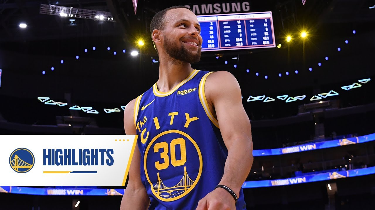 Stephen Curry Hits CLUTCH Game-Winner vs. Jazz | May 10, 2021
