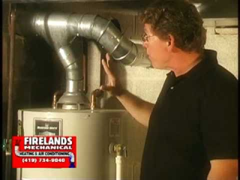 Checking your hot water tank venting - Watch These Tips - YouTube