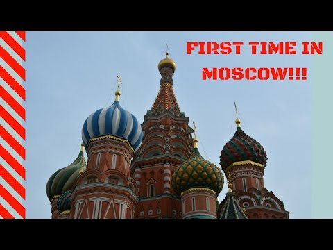 FIRST TIME in Moscow! (Red Square, GUM, Kreml, St. Basil's Cathedral,  Gorky Park, Bolshoi Theater)