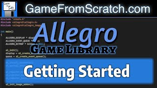 Allegro Tutorial Series -- Getting Started