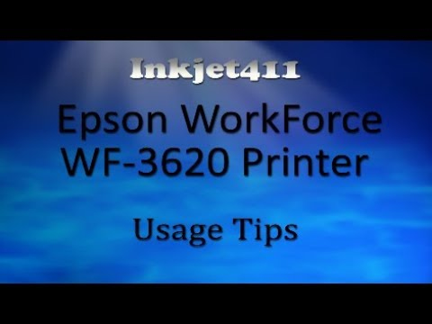 Epson WorkForce WF-3620 Printer (252 Ink Cartridge Tips)