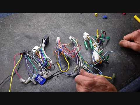 Aftermarket Car Stereo Wire Color Codes and Installation - YouTube