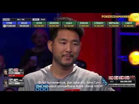 John Cynn Menjuarai WSOP 2018 | Pokeridaman88.com