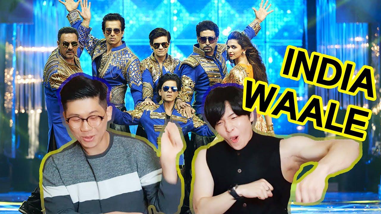 Download Korean React to 'India Waale'   Happy New Year   Shah Rukh Khan x Deepika Padukone