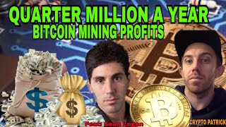 HOW TO EARN $20,000 A MONTH - EARNING OVER $250,000 A YEAR - BITCOIN MINING - BTC CRYPTOCURRENCY