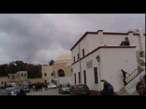 storm aproaching and an F16 fighter plane gives a crazy show .Rhodes Greece 07/03/2014!!!