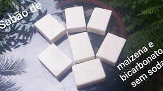 Sabão de Maisena e Bicarbonato Desengordurante