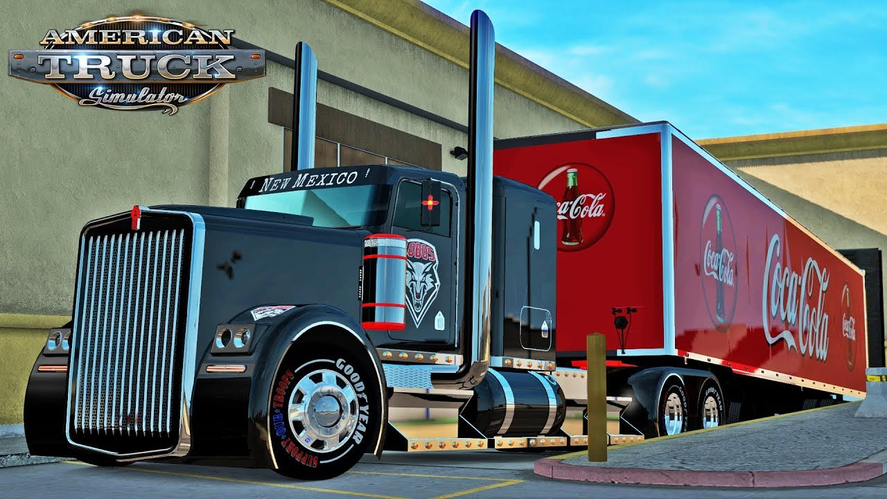 American Truck Simulator: Albuquerue NM Coca-Cola run - W900 hot rod by ATS  Experience