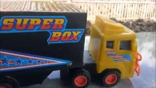 Mobil Box Muat Makanan Mainan Mobil Anak Anak Lucu Rizdaffa Dais Youtube