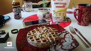 High-protein Waffles | Day 27 | Kris Gethin