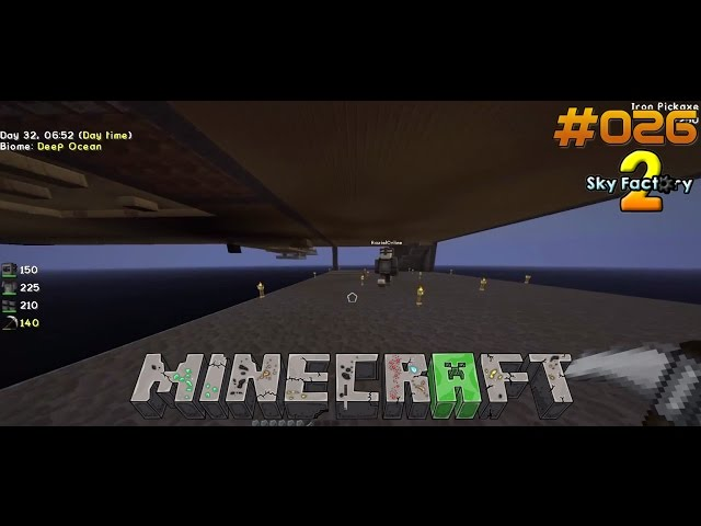 Let's Play Minecraft Sky-Factory 2 | Keller ist auch Fertig | Folge #026