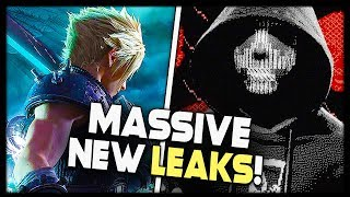 MASSIVE FINAL FANTASY 7 LEAK + WATCH DOGS 3 GAMEPLAY REVEAL AT E3?