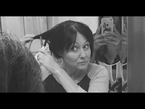 Shannen Doherty Shaves Head in Cancer Battle