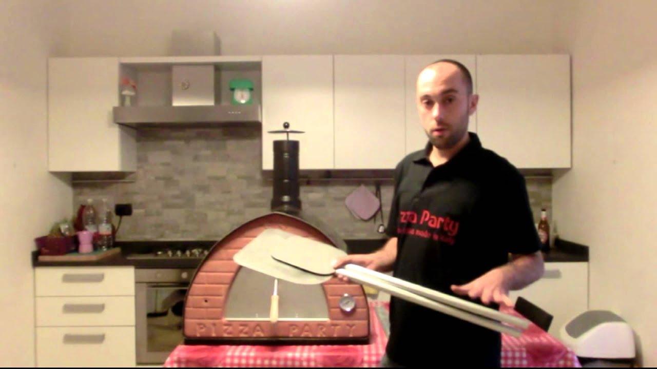 Pale per pizza per forni a legna e forni elettrici pale leggere maneggevoli per uso frequente - Forni per pizza casalinghi ...