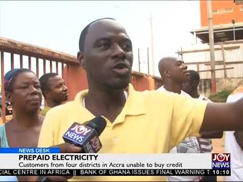 Prepaid Electricity - News Desk on Joy News (6-12-17)