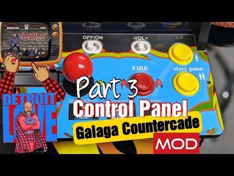 Arcade1Up V2 Gen 2 Countercade Mod: Part 3 - Control Panel from Detroit Love