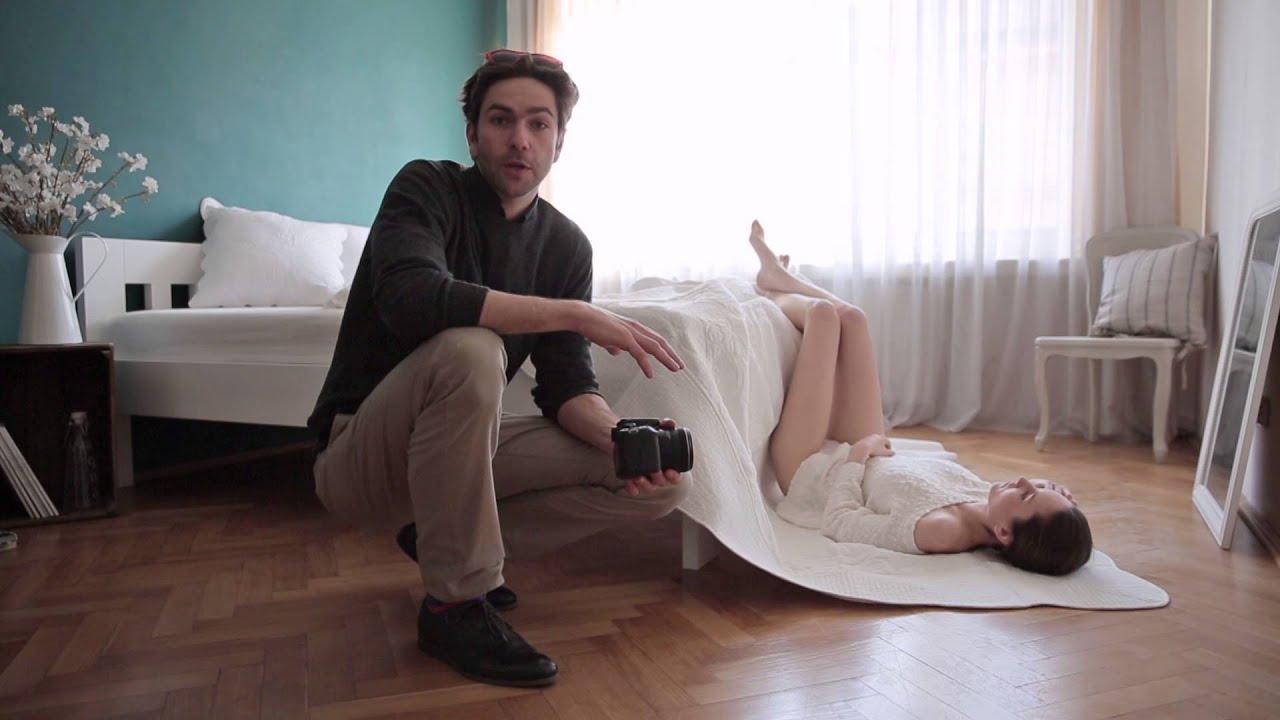 Focení Glamour a Akt s Bárou   JANZEMANEK.COM - YouTube