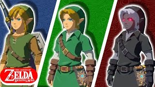 How to Get ALL Classic Link Outfits in Breath of the Wild