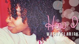 NATURAL HAIR | How I Cleanse/Clarify Thumbnail