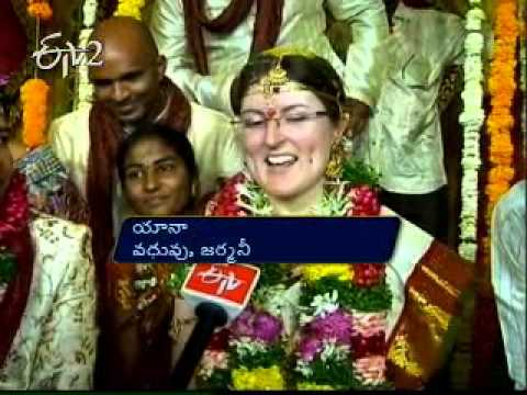 Germany, Kazakhstan women weds Telugu men