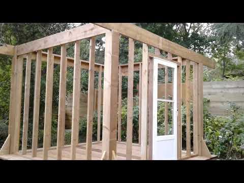 DIY 10'x10' Timber Frame Gazebo