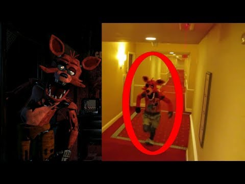 Five Nights At Freddy's In Real Life (Fnaf) #FNAF