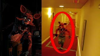 Five Nights At Freddy's In Real Life (Fnaf) #FNAF thumbnail
