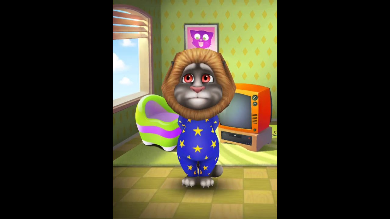 talking tom shower