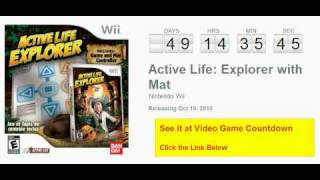 Active Life: Explorer with Mat Wii Countdown