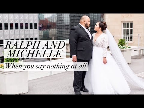 OUR WEDDING | When You Say Nothing At All (Cover)