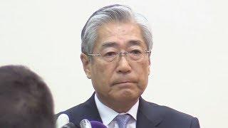 【ライブ】竹田JOC会長「潔白を証明していく」改めて疑惑否定