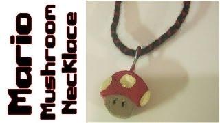 Mario Mushroom Necklace Wood Crafts