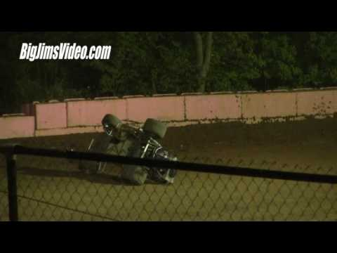 Linda's Speedway Flips and Crashes 9-9-16