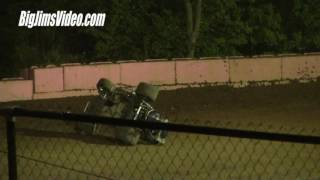 Linda's Speedway Flips and Crashes