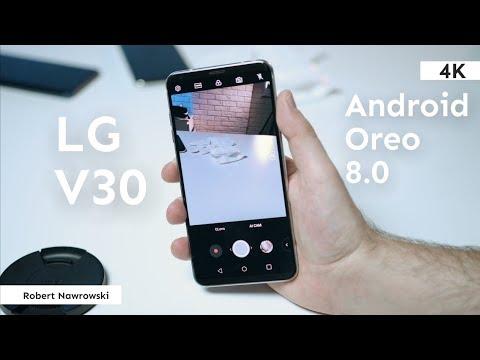 LG V30 Android Oreo 8.0 - AI w aparacie | Robert Nawrowski