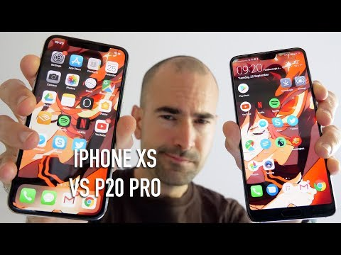 iPhone XS vs Huawei P20 Pro | Side-by-side comparison