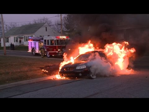Fully Involved Car Fire, Whitehall, PA | 11.20.14