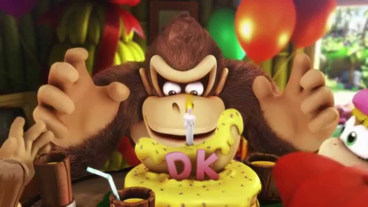 How To Make Donkey Kong Banana Cake Tropical