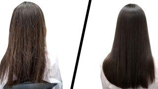 видео Желатиновая маска для волос в домашних условиях