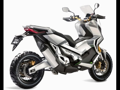 Motor Matic Honda Adventure 750 Cc For 2017 - YouTube